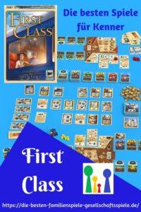 First Class - die besten Spiele für Kenner und Familien, ein hoch flexibles Eisenbahnspiel