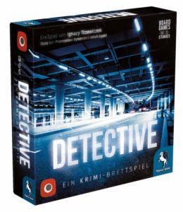 Nominiert zum Kennerspiel des Jahres 2019 - Detective