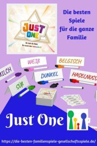 Just One - die besten Familienspiele & Partyspiele