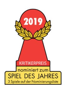Spiel des Jahres 2019 - alle Nominierten