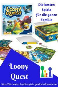 Loony Quest - die besten Brettspiele für die ganze Familie