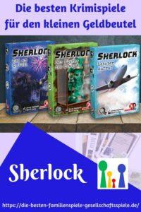 Sherlock - Krimirästel im Hosentaschenformat