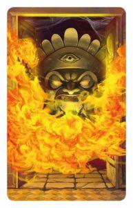 Tempel des Schreckens - Feuerfalle