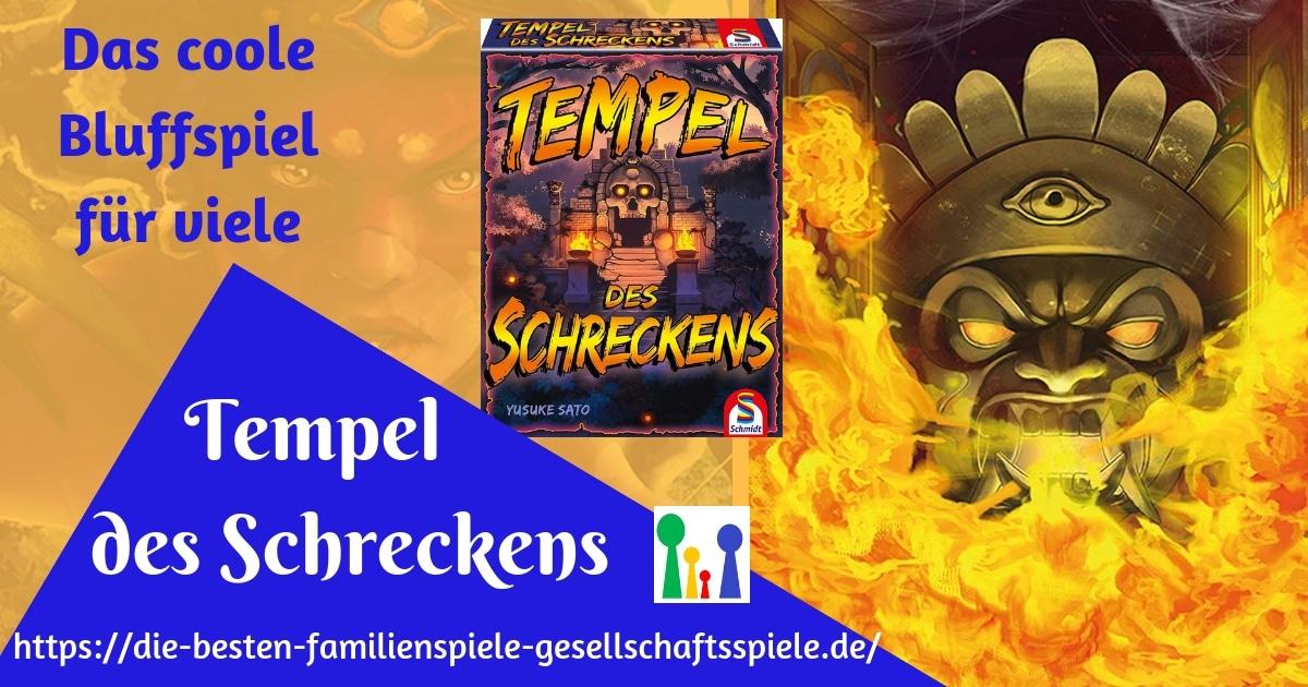 Tempel des Schreckens - Spiele für viele