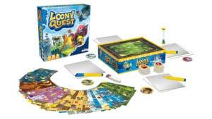 Loony Quest - Spiel Inhalt
