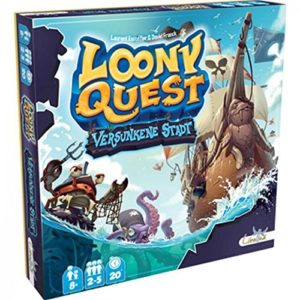 Loony Quest Erweiterung - versunkene Stadt