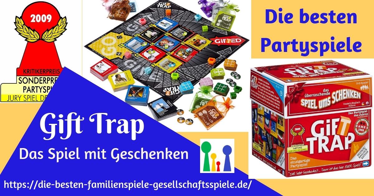 Gift Trap - Partyspiel des Jahres 2009