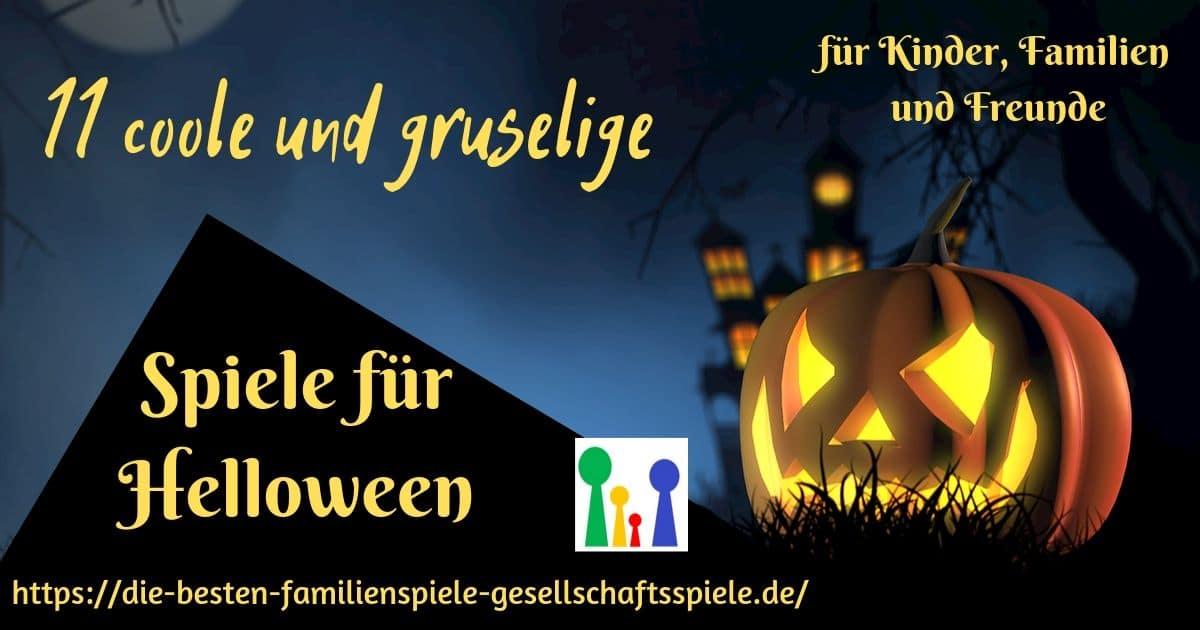 Gruselige Halloween Spiele