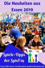 Spieletipps – SPIEL '19 Neuheiten (Messebericht Teil 2)