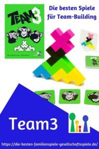 Team3 - die besten Gesellschaftsspiele für Freunde & Familie