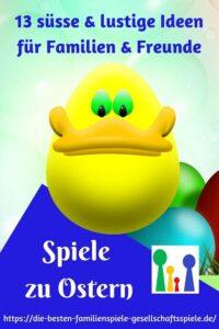 Spiele zu Ostern - Spiele zum Verstecken & Verschenken