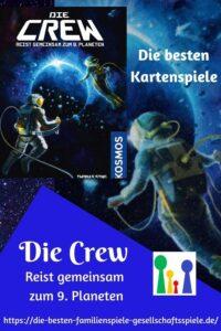 Die Crew reist gemeinsame zum 9. Planeten von Kosmos