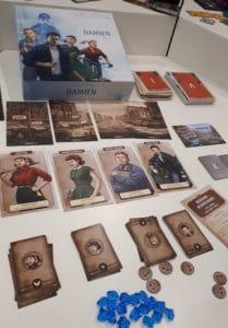 Brettspiele Neuheiten Nürnberg 2020: Time Stories Damian - blaue Reihe