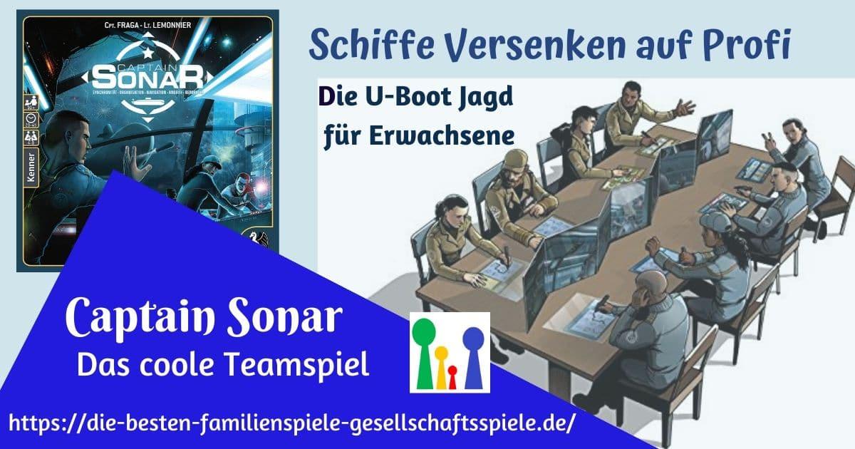 Captain Sonar -Teamspiel für Erwachsene