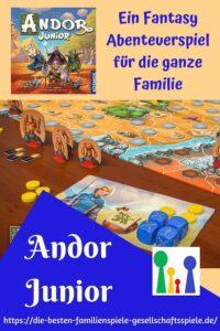 Andor Junior - ein Fantasy Abenteuer Brettspiele für Familien und Kunder ab 7 Jahren