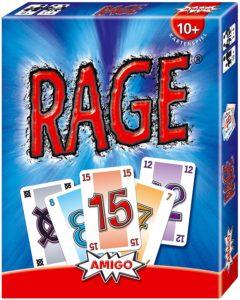 Rage - die besten Kartenspiele mit Stich Ansage