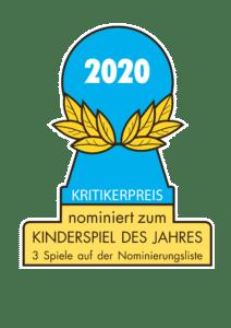 Kinderspiel des Jahres 2020 - nominierte Spiele