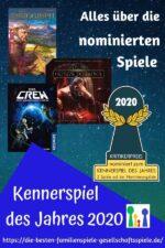 Kennerspiel des Jahres 2020 – Vorstellung aller nominierten Spiele