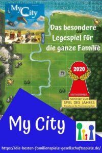 My City - Das Legacy Familienspiel - nominiert zum Spiel des Jahres 2020