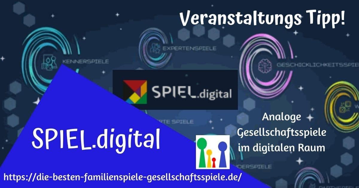 SPIEL.digital - der Veranstaltungstipp für Fans analoger Gesellschaftsspiele