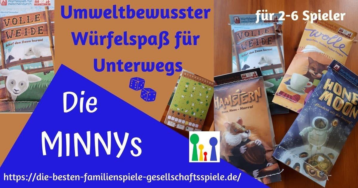 MINNYs - kleine Würfelspiele für zwischendurch & unterwegs
