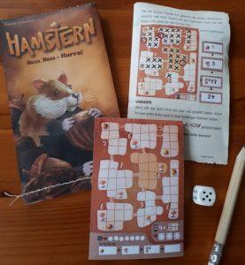 Hamstern - Würfelspiel für unterwegs - Die MINNYs von NSV