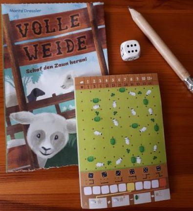 Volle Weide - Das tolle 5 Minuten Würfelspiel für unterwegs - NSV MINNYs