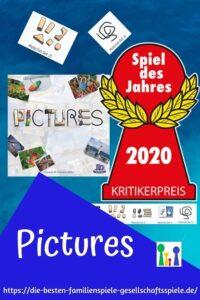 Pictures - Spiel des Jahres 2020 - Großer Spielspass & einfachste Regeln