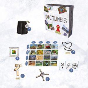 Pictures - das Bauspiel mit ungewöhnlichen Materialen