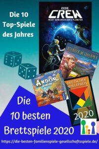 Die besten Brettspiele 2020 - die TOP 10 Liste + Kinderspiel
