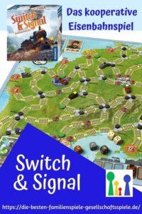 Switch & Signal - gemeinsam ans Ziel: Kooperatives Brettspiel für Eisenbahnfans & Familien