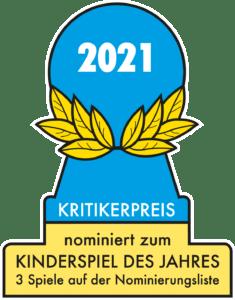 Kinderspiel des Jahres 2021 - die nominierten Spiele für Kinder