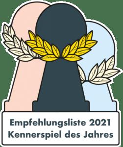 Kennerspiel des Jahres 2021 - Die Empfehlungsliste