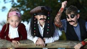 zum Kindergeburtstag: Das Gruppenspiel für Kinder ab 8 Jahren - Die Pirateninsel