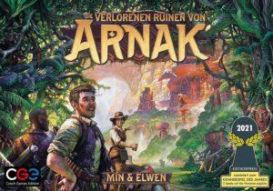 Die verlorenen Ruinen von Arnak - Schachtel Cover