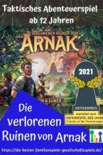Die verlorenen Ruinen von Arnak – ein spannendes, taktisches Abenteuer