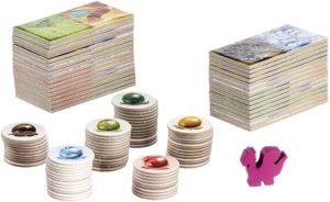 Dragomino - Spielmaterial