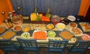 Krimiparty Tipps: Essen als Buffet