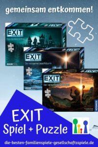 Exit - Das Spiel + Puzzle: gemeinsam entkommen - Escape Room für zuhause
