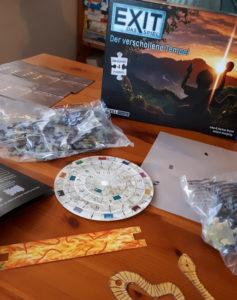 Exit - Puzzle: Der verschollene Tempel - Spielmaterial