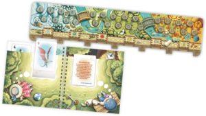 Fabelwelten - Tierkarten in das Buch einstecken