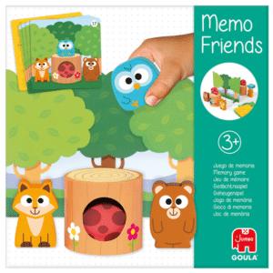 Kinderspiel des Jahres 2021 Empfehlungsliste: Memo Freinds von Goula / Jumbo - für 1-2 Kinder ab 3 Jahren