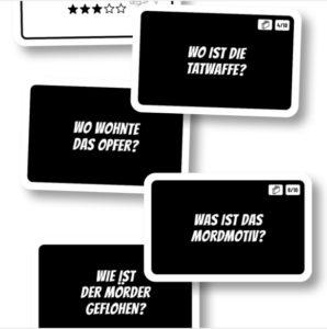 MicroMacro Crime City - Aufgabenkarten