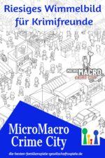 MicroMacro Crime City – riesiges Comic-Rätsel für Krimifans