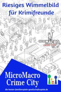 MicroMacro Crime City - Detektivspiel für 1-4 Spieler ab 10 Jahren