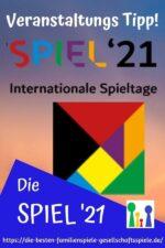 Die SPIEL '21 wieder live in Essen!