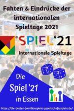 SPIEL '21: Essen 2021 – Messebericht der internationalen Spieltage