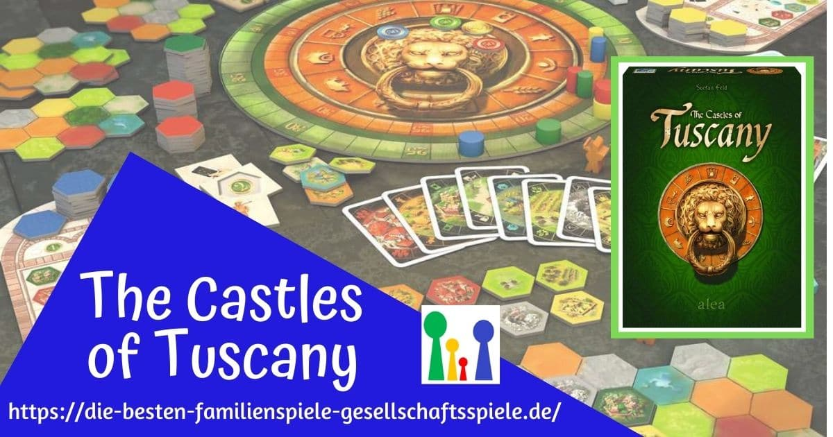 The Casles of Tuscany - Familienspiel PLUS ab 10 Jahren