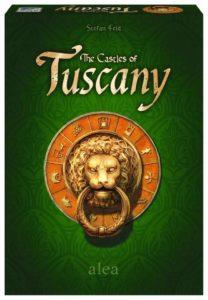 The Castles of Tuscany - Taktisches Legespiel von Stefan Feld ab 10 Jahren