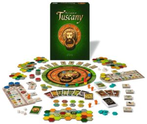 The Castles of Tuscany - Taktisches Legespiel für Familien und Kenner